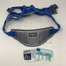 Blueberry Pet 3M Scotchlite Reflective Padded Dog Harness - Blue Gray Large