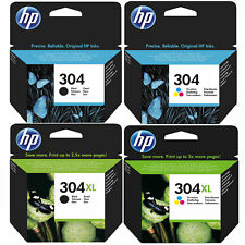 Original HP 304 / 304XL Black & Colour Ink Cartridges For DeskJet 3764 Printer