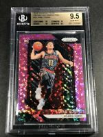 TRAE YOUNG 2018 PANINI PRIZM FAST BREAK PINK REFRACTOR ROOKIE RC /50 BGS 9.5 10