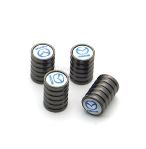 1Set Car Accessories For Mazda Wheel Tire Valve Stems Caps Tyre Air Screw Covers