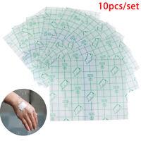 10Pcs 15*15cm Waterproof Transparent Adhesive Wound Dressing Plaster Stretch.QA