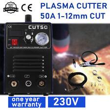 50A Inverter DIGITAL Plasma Cutter cut50 & accessories 240V & torches 1-12mm cut