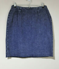 Ralph Lauren 'Lauren Jeans Co' Stretch Denim Skirt Size 8P