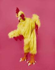 YELLOW PRO ADULT CHICKEN SUIT COSTUME halloween party prop mascot dressup new