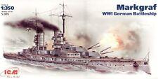 ICM 1/350 Markgraf WWI German Battleship # S005