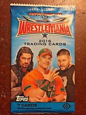 2016 Topps WWE Road to WresleMania Factory Sealed Pack - 7 Cards