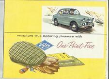 BMC Riley one-point-five SALES BROCHURE 1962