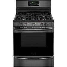Frigidaire Gallery Black Stainless Gas Freestanding Conevection Range Fggf3059Td