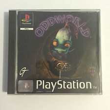 Oddworld abe's oddysee ps1 playstation 1 game