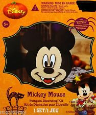 Halloween Disney Mickey Mouse Pumpkin Decorating Kit NIB