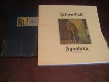 JETHRO TULL AQUALUNG 25TH ANNIVERSARY CD LONGBOX & 40TH ANNIVERSARY BOX LP'S+CDS