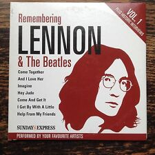Lennon & The Beatles (2 Express CDs). Interviews & 12 covers. 140 mins Pop Promo
