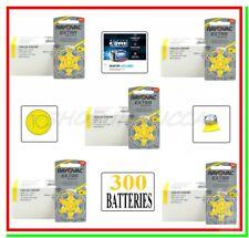 batterie per apparecchi acustici 10 rayovac extra advanced 300 pile per protesi