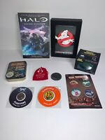 Bundle Job Lot Collection Loot Crate Merch Halo Space Invaders Ghostbusters