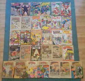 31 issue Silver Age DC Lot Action Superman Batman Justice League Atom Brave Bold