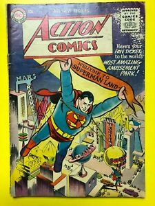 ACTION COMICS #210 with Superman, Nov., 1955. Original owner. See photos