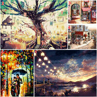 DIY Painting Digital Oil By Number Kit Paint Home Wall Art On Abstract Canvas