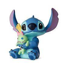 Disney Showcase - Lilo & Stitch - Sitting Stitch Hugs Doll Mini Figurine 6002187