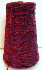 Berry Bowl Rayon Chenille 2000ypp cone yarn weave 1/2 lb - Free Ship On $50+