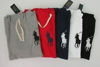 NWT Ralph Lauren Mens LS Mesh Big Pony Hoodie Pullover Shirt Sz S M L XL 2XL NEW
