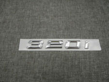 BMW 3-SERIES 320i CHROME LETTER FOR REAR TRUNK EMBLEM BADGE