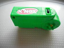 K'NEX KNEX GREEN MOTOR game PART MOTORIZED UNIT WORKING FREE SHIPPING