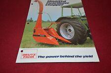 Deutz Fahr MH500 Mounted Corn Chopper Harvester Dealer's Brochure DCPA2