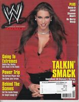 WWE Magazine Talkin' Smack | Stephanie McMahon Cover 2002 w/ Double Side Poster