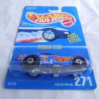 Hot Wheels Blue Card #271 FUNNY CAR Extremely, Extremely, Extremely RARE # 271 !