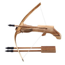Wooden Crossbow Tools Mini Wooden Archery Crossbows Wooden Decoration Bow 2017
