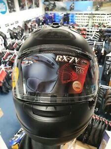 Arai RX-7V Frost Black Medium Motorcycle Helmet ex display SALE