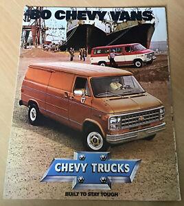 CHEVROLET Chevy Van '80 Sales Brochure Jul 1979 USA #3912