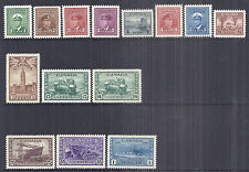1942-1943 Canada 216-229 249-262 375-388 KGVI Complete Set of 14, XF Choice MNH*