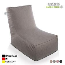 RELAXFAIR Design Sessel Fernsehsessel Relaxsessel TV Lounge Polstersessel Grau