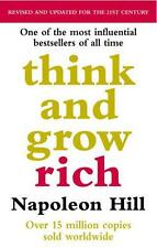 Think And Grow Rich by Napoleon Hill, NEW Book, FREE & FAST Delivery, (Paperback