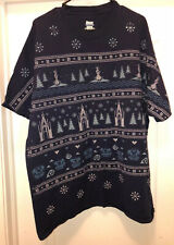Hanes Beefy T shirt Disney XXL Olaf Frozen Ugly Christmas Sweater style trolls