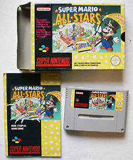 SUPER MARIO ALL STARS sur Super Nintendo SNES