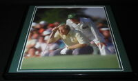 Jackie & Jack Nicklaus 1986 Masters Framed 12x12 Poster Photo