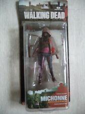 MOC 2013 MCFARLANE THE WALKING DEAD SERIES 3 MICHONNE W/ PONCHO ACTION FIGURE