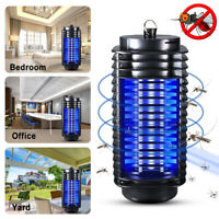 Electric LED UV Mosquito Killer Lamp Indoor Outdoor Fly Bug Insect Zapper Trap