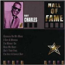 CD Album Ray Charles Hall Of Fame (Kiss Me Baby, Alone In The Night)