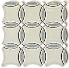 Orbital Light Side Decorative Mosaic Porcelain Wall Kitchen Bath Backsplash Tile