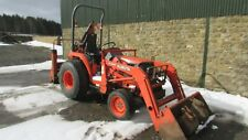 Kubota ST-30 compact tractor with loader and backhoe £7,500 + VAT