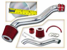 BCP RED 98-02 Accord 2.3L L4 Short Ram Air Intake Induction Kit + Filter