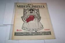 OCT 1907 MODERN PRISCILLA magazine