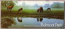 1977 Metropolitan Mile Program FOREGO Belmont Park