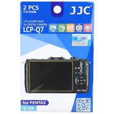 JJC LCP-Q7 Camera LCD Screen Display Film Protector for PENTAX Q7 Q10 Q-S1 Q
