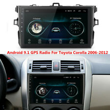 For Toyota Corolla 2006-2012 Gps Navigation Android 9.1 Car Stereo Radio Wifi Bt