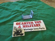 Jeep Willys M38 CJ2A Cj3A rear Fuel tank bracket US MADE!