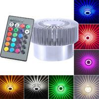 3W LED RGB Wandlampe Wandleuchte Flurlampe Schlafzimmer Beleuchtung Effektlampe
